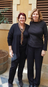 JCF CEO Tracy Salkowitz and Anat Hoffman, IRAC's Executive Director and the Chair of Women of the Wall