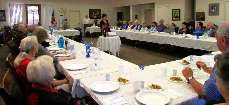 Rabbi Batsheva Appel from Temple Emanuel and participants at a Covenant House Friday night Shabbat service