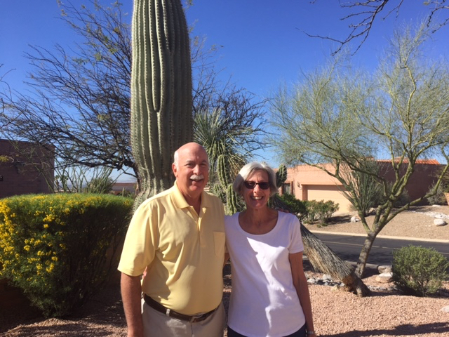 Tucson newcomers Susan and Rick Levy