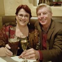 Tracy Salkowitz and Rick Edwards