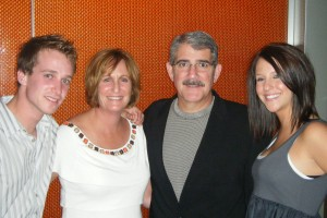 Matt, Anne, David and Erin Hameroff